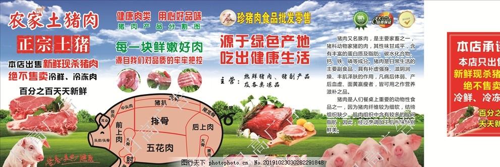农家土猪肉,乡下土猪肉,正宗土猪,新鲜现杀猪肉,百分之百,天天新鲜,营养美味