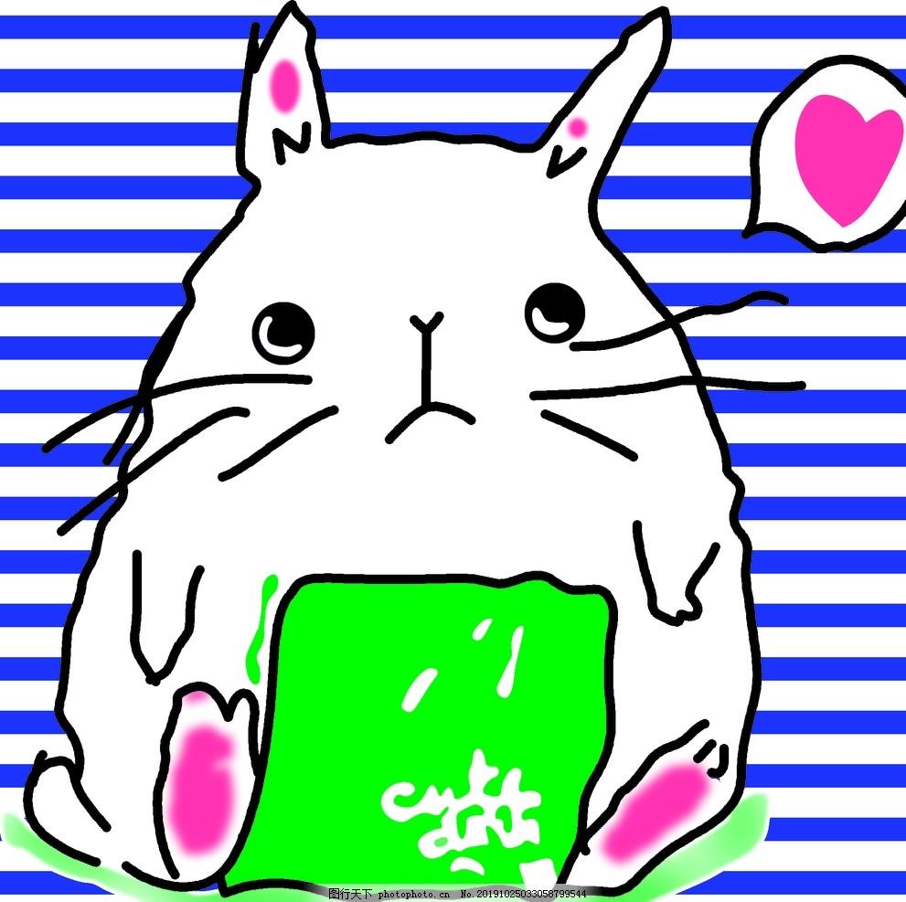龙猫,图案,动漫,印花,数码,服装,设计